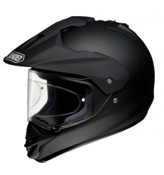 Casco Shoei enduro Hornet DS  monocolore nero opaco