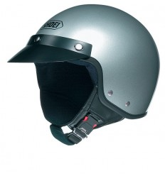 Casco Shoei S-20 argento metal