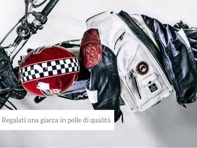 Giacche da moto in pelle di alta qualità