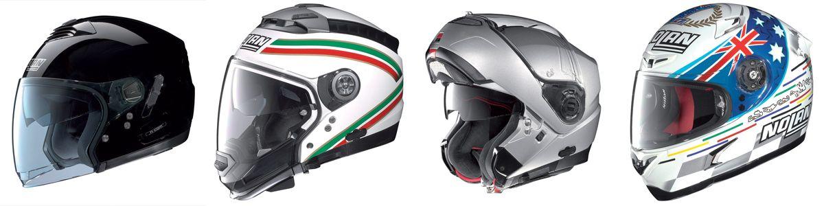 Caschi ed accessori Nolan...il made in Italy