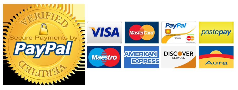 Risultati immagini per paypal pagamento sicuro png