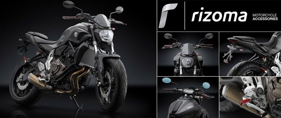 come trovare fornire un'ampia selezione di rivenditore online Linea accessori Rizoma per Yamaha MT-07